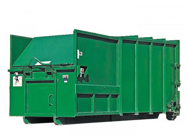 20 cbm Presscontainer für Papier / Pappe